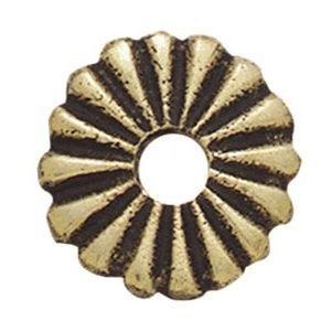 FERRURES ET PATINES - petite rosace en bronze pour bouton style louis xi - Rosace De Porte