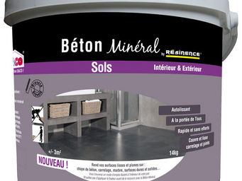 RESINENCE - béton minéral résinence - Béton Ciré Sol