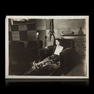 Expertissim - titaïna (1897-1966). photographie par henri manuel - Photographie