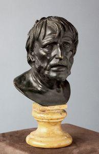 Galerie Jérôme Pla - éneque et homere attribués à francesco r - Buste