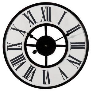 Maisons du monde - horloge giverny - Horloge De Cuisine