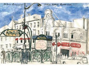 IN CREATION - carnet de voyages - anvers - Panneau D�coratif