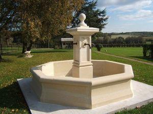Marbrerie Rouillon - aigues mortes - Fontaine Centrale D'ext�rieur