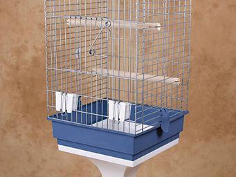 ZOLUX - cage karaok� avec pied 76.5x43.4x43.4cm - Cage � Oiseaux