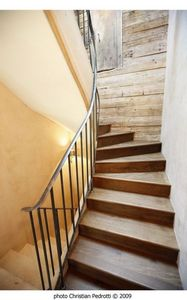 Cabuy Didier -  - Escalier À Limon Central