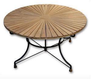 INFLUENCES CIPANGO -  - Table De Jardin Ronde