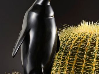 Delisle - pingouin - Sculpture Animali�re