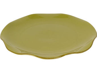 Athezza Home - ass. plate lotus verte d28cm - Assiette Plate