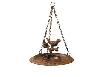 Athezza - abreuvoir oiseaux suspendu d23cm - Bain D'oiseau
