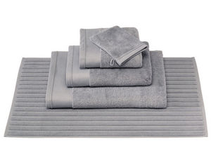 BLANC CERISE - drap de bain - coton peigné 600 g/m² - uni - Tapis De Bain