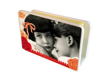 Orval Creations - cache-�ponges romance - Porte �ponge