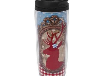 Orval Creations - travel mug jardin d'hiver - Bouteille Isotherme