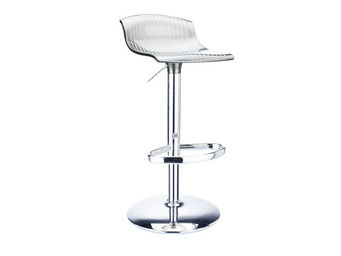 ACHATDESIGN - tabouret aria transparent - Chaise Haute De Bar