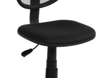 Up Trade - chaise de bureau noire aero - Chaise De Bureau
