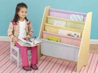 KidKraft - bibliothque en bois pastel kidkraft - Biblioth�que Enfant