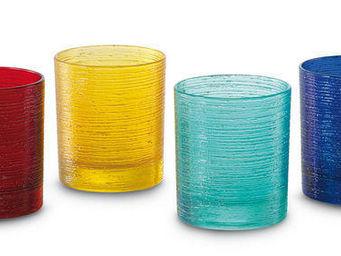 Greggio - set of 4 pc. mixed liqueur glasses art. 19880160 - Verre � Vodka