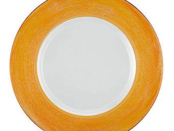 Greggio - orange lay plate art 19880172 - Dessous D'assiette
