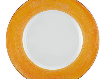 Greggio - orange lay plate art 19880172 - Dessous D'assiette