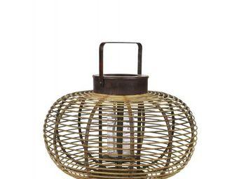 BLANC D'IVOIRE - saigon ronde - Lanterne D'intérieur