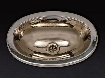 Cristal Et Bronze - artica - Vasque À Encastrer