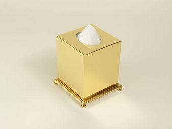 Cristal Et Bronze -  - Boite À Mouchoirs