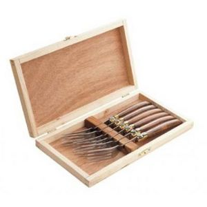 Delta - coffret laguiole 6 fourchettes - Fourchette De Table