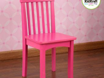 KidKraft - chaise framboise en bois pour enfant 34x32x68cm - Chaise Enfant