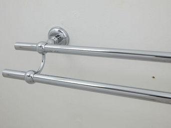 Cristal Et Bronze - lisse - Porte Serviettes