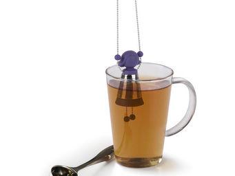 Umbra - infuseur à thé design marionnette violette 17,8x3, - Boule À Thé