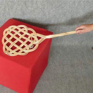 Aubry-Gaspard - tapette à tapis en rotin 72x22cm - Tapette