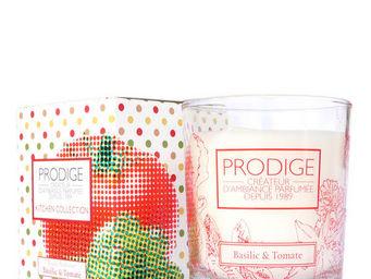 PRODIGE - bougie parfum�e basilic et tomate - Bougie Parfum�e