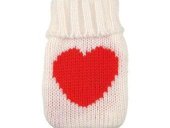 La Chaise Longue - chaufferette coeur rouge - Bouillotte