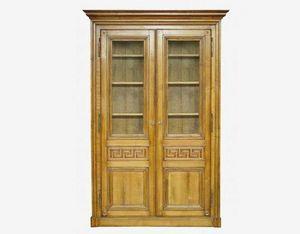 Moissonnier - bibliotheque grecque - Armoire � Portes Battantes