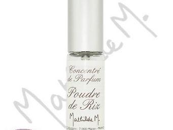 Mathilde M - concentré de parfum mini spray - poudre de riz - 5 - Essences Parfumées