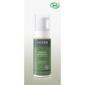 CATTIER PARIS - mousse pour rasage bio - fine lame - 150 ml - catt - Mousse À Raser
