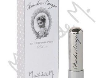 Mathilde M - parfum de corps roll-on - poudre d'ange - mathild - Eau De Toilette