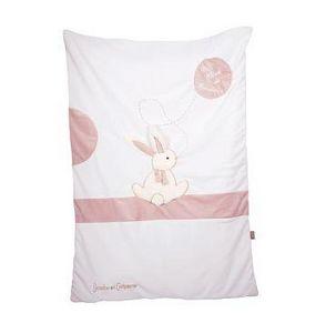 Doudou & Compagnie - lapin bonbon - Edredon Enfant