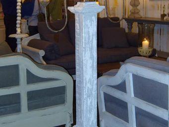 PROVENCE ET FILS - lampadaire oslo 165cm avec bulbes de verre souffl� - Lampadaire
