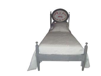 PROVENCE ET FILS - lit fado couchage 90 / structure patin�e s�rigraph - Lit Simple