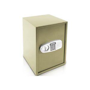 WHITE LABEL - coffre-fort en acier avec serrure code - Coffre Fort � Poser