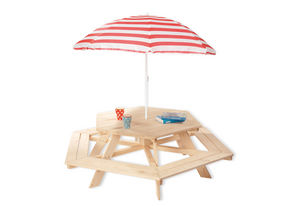 PINOLINO - nicki 6-eck - Table De Jardin Enfant