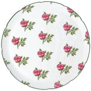 Raynaud - villandry fleurs - Plat � Tarte