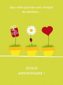 CAPUCINE DESIGN -  - Carte D'anniversaire