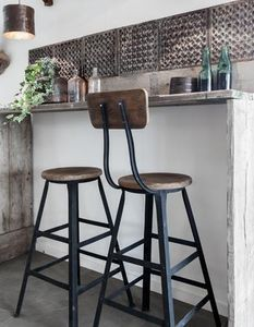 RAW MATERIALS AMSTERDAM -  - Tabouret De Bar