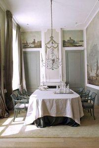 ROUGE ABSOLU -  - R�alisation D'architecte D'int�rieur Salle � Manger