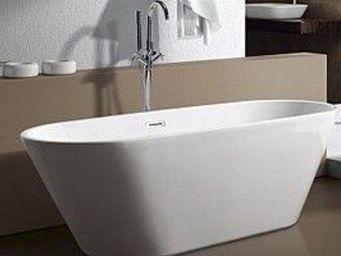 UsiRama.com - baignoire �lot ovale 1.70m x 0.74m - Baignoire Ilot