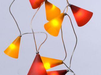 Pa Design - guirlande - coucher de soleil 50 lumières 5m | gui - Guirlande Lumineuse