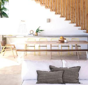 Maison De Vacances - lin napoli - Coussin Rectangulaire