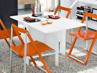 Calligaris - table console modulable spiazo de calligaris blanc - Console Extensible