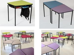 L'INTEGRALE D'AGENCEMENT -  - Table Scolaire